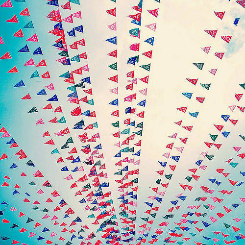 Papel Picado Mexican Wedding Banners and Flags Junebug Weddings