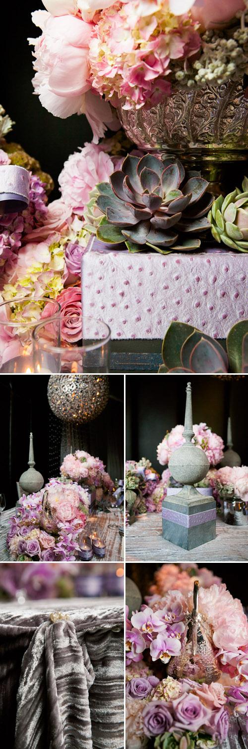 Coco Chanel Inspired Wedding Decor Photo Shoot | Junebug Weddings