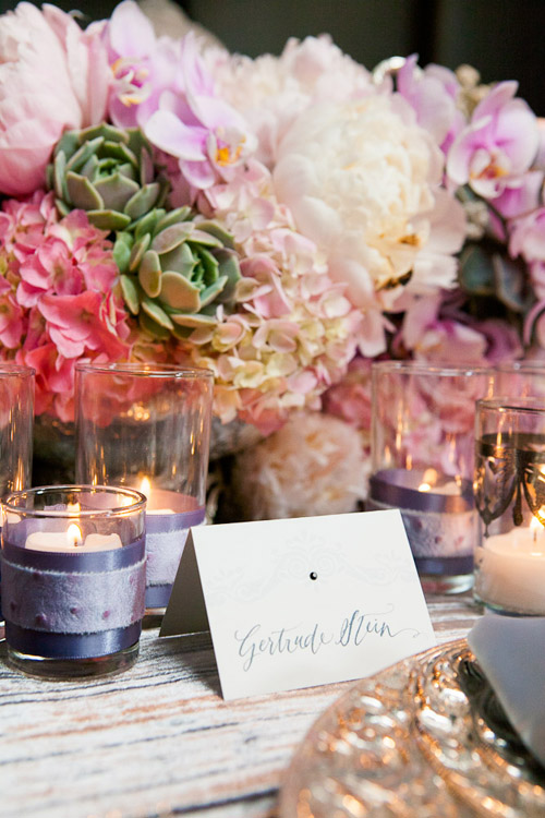 pink, lavender and silver Coco Chanel inspired wedding style from Exquisite Events, Revelry, Hidden Garden, Wildflower Linen, Copper Willow, Callaway Gable Photography