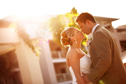 romantic, Playa del Carmen resort destination wedding photos by Del Sol Photography