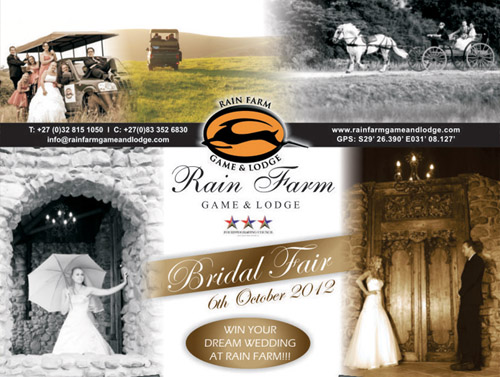 Rain Farm Game and Lodge Bridal Fair | junebugweddings.com