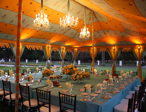 & Distinctive Wedding Tenting - Advice from Raj Tents | Junebug Weddings