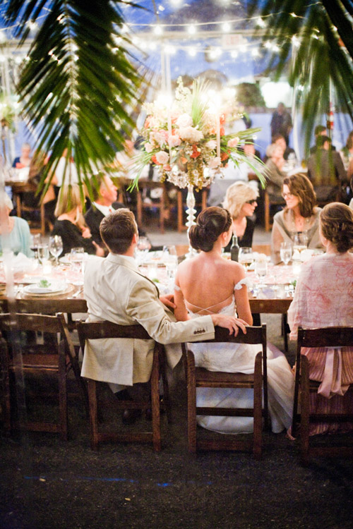 Romantic Spanish old-california wedding reception at La Familia Ranch in San Luis Obispo, CA