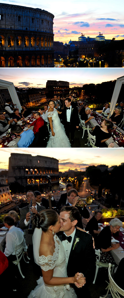 destination wedding in Rome Italy, planned by Italia Celebrations, photos by Ruggero Farina