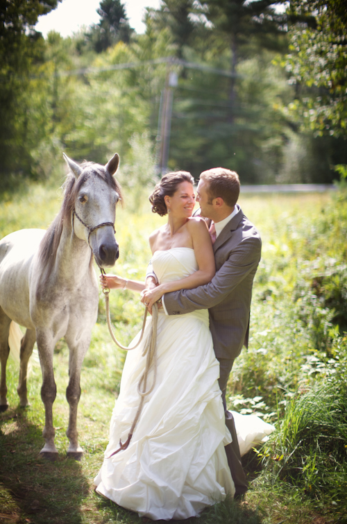 Rustic Country Vermont Wedding Sarah Dicicco Junebug