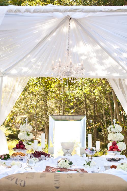 Rustic Elegant Persian Wedding