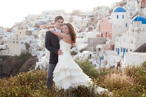 eee75877c48 Santorini Greece Wedding photo by John and Joseph Photography