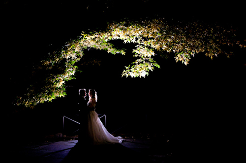 Garden wedding at The Stone Mill at The New York Botanical Garden - photos by E. Leigh Photography | junebugweddings.com
