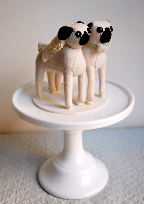 Stuffed Animal Wedding Cake Toppers By Sian Keegan Junebug