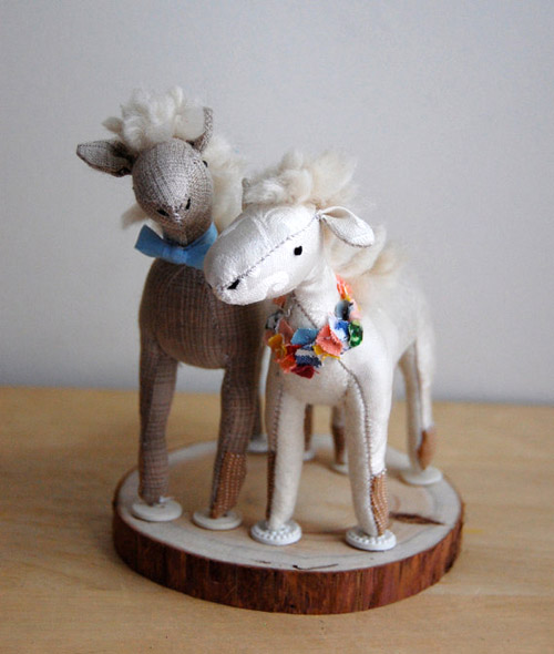 Stuffed Animal Wedding Cake Toppers by Sian Keegan ...