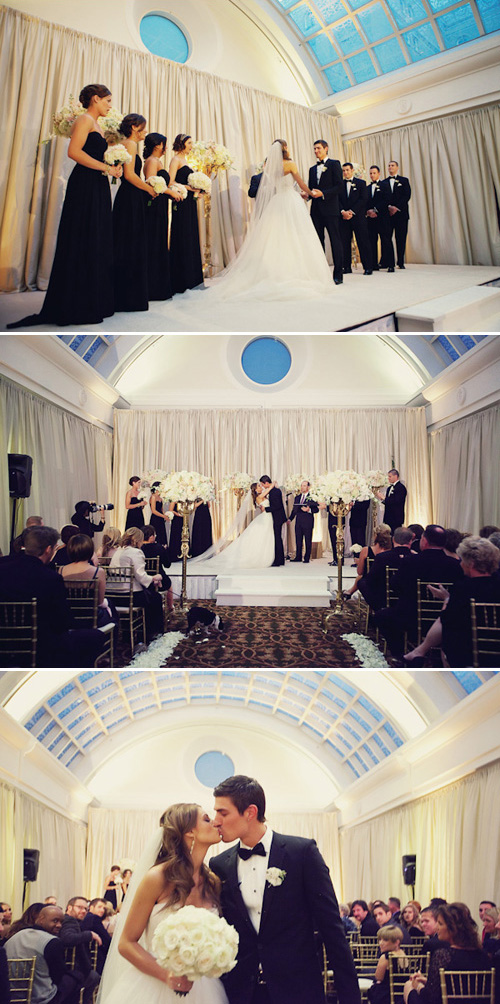 gorgeous San Francisco wedding at the Palace Hotel - photos by SF, bay area wedding photographers Tinywater Photography