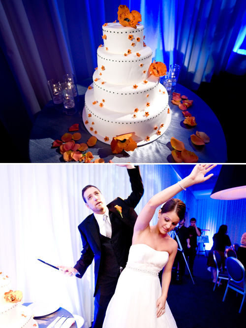 funky, modern Jewish wedding at the SLS Luxury Hotel Beverly Hills - photos by Kim Fox Photography