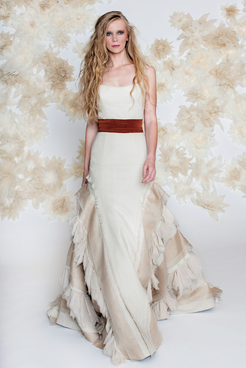 Tara LaTour Fall 2013 Wedding Dress Collection | junebugweddings.com