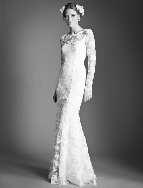 Temperley Bridal Florence wedding dress from Bridal Market | via junebugweddings.com