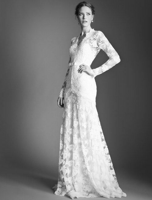 Temperley Bridal Guinavere dress from Bridal Market | via junebugweddings.com