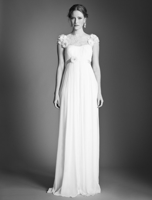Temperley Bridal Kaitlyn wedding dress from Bridal Market | via junebugweddings.com