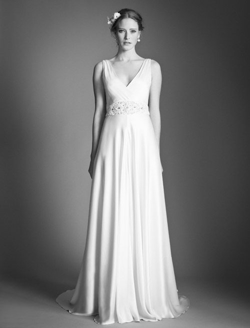 Temperley Bridal Madison wedding dress from Bridal Market | via junebugweddings.com
