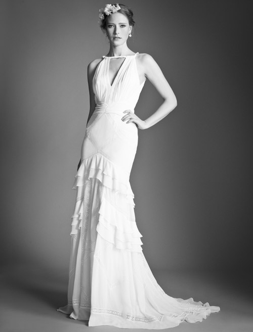 Temperley Bridal Marguerite wedding dress from Bridal Market | via junebugweddings.com