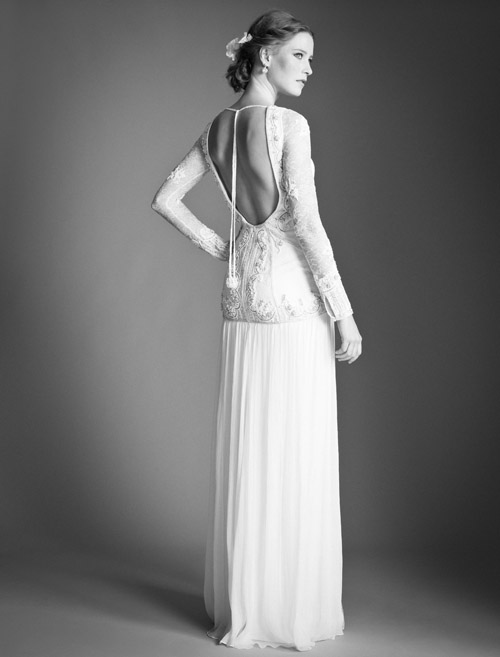 Temperley Bridal Viva dress from Bridal Market | via junebugweddings.com