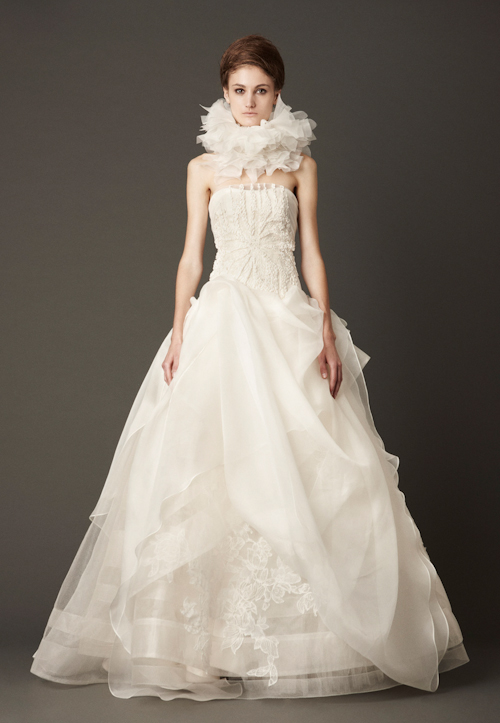 Vera Wang Fall 2013 Wedding Dresses | Junebug Weddings