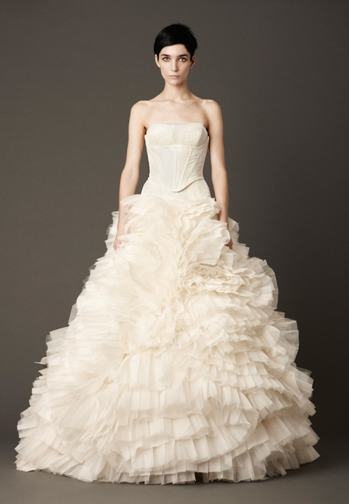 Vera Wang Fall 2013 Wedding Dress Collection | junebugweddings.com
