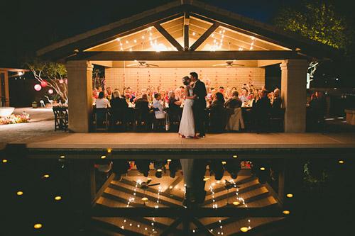Colorful Backyard Vintage Wedding In Phoenix Az Junebug