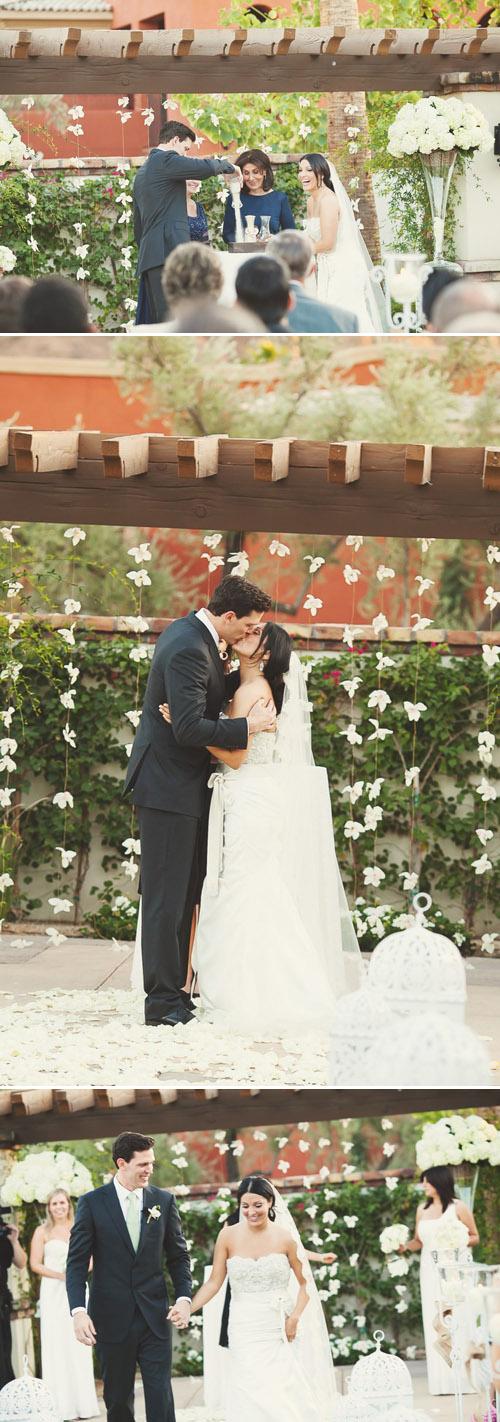 Vintage-Inspired Garden Wedding - Photo by Erica Velasco