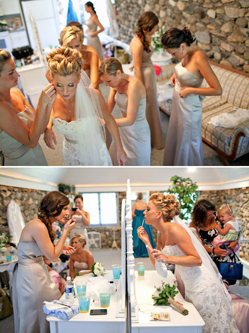 Wedding Day Preparations, Photos by Dan Stewart Photography | Junebug Weddings