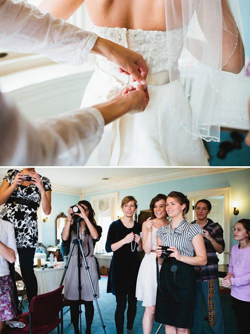 Wedding Day Preparations, Photos by Gene Pease | Junebug Weddings