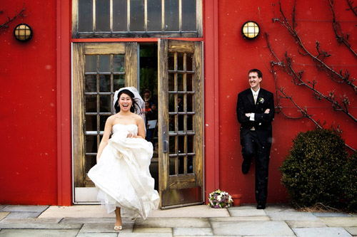 wedding photo by Bob and Dawn Davis Photography and Design | via junebugweddings.com