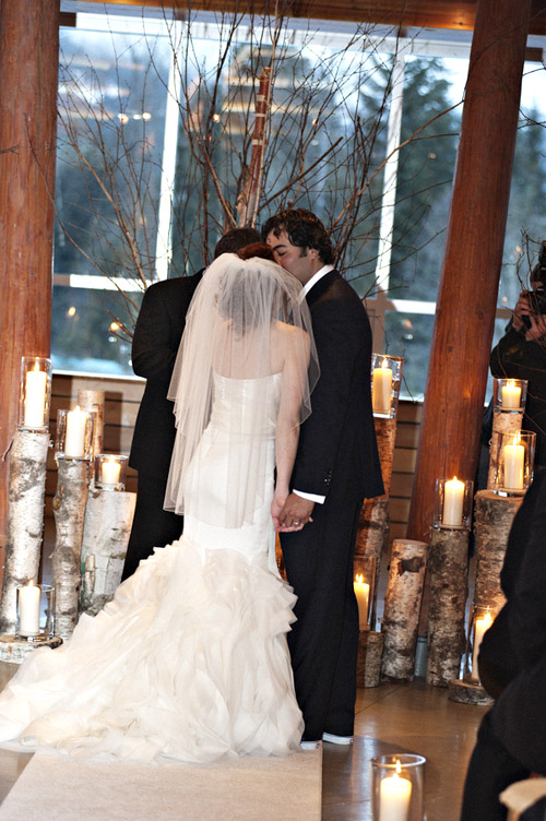 Winter Wedding at The Four Seasons Whistler, Photo by Anastasia Photography