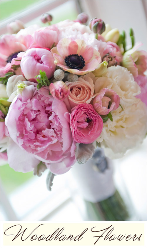Bridal bouquet by Seattle florist Woodland Flowers, photo by Christopher Gendron Photography | junebugweddings.com