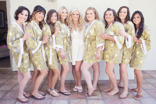Rustic chic wedding at Maravilla Gardens - photo by Christine Bentley Photography | junebugweddings.com