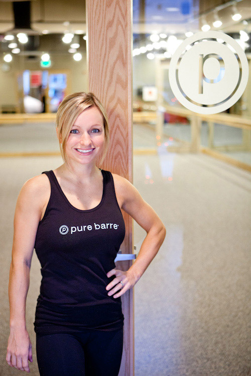 Sami Dinsmore Sweeney of Pure Barre Seattle and Bellevue | junebugweddings.com