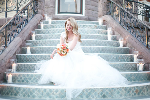 Alice in Wonderland wedding inspiration, Newhall Mansion, Touch of Gold Events, Wisteria Lane Floral Design Studio and Becca Rillo Photography | via junebugweddings.com