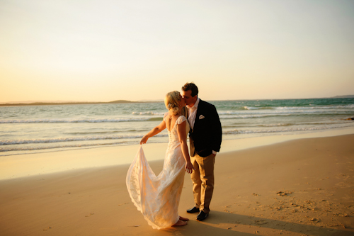 Little Cove, Noosa Australia beach wedding by 37 Frames Photography | junebugweddings.com