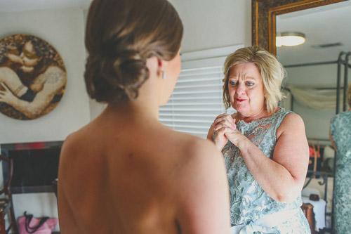 pink, blue and white summer wedding at Hacienda Del Lago, Volente, Texas - photo by Christina Carroll | via junebugweddings.com