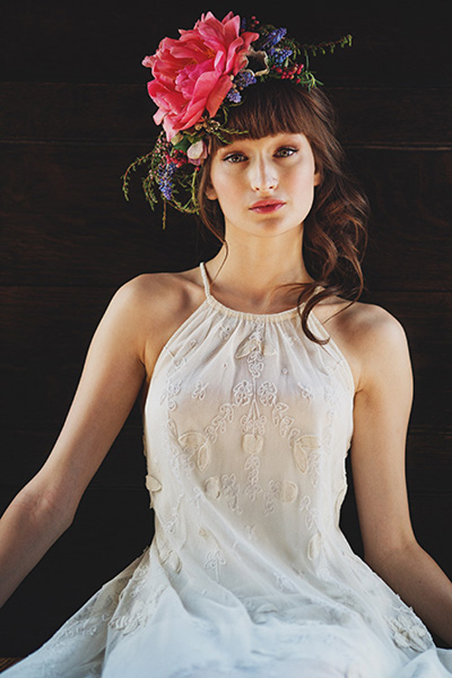 Boho Bridal - Fabulous Floral Crowns and Bouquets ...