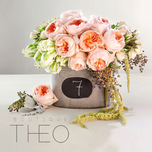 stylish wedding decor and accessories from Boutique THEO | via junebugweddings.com