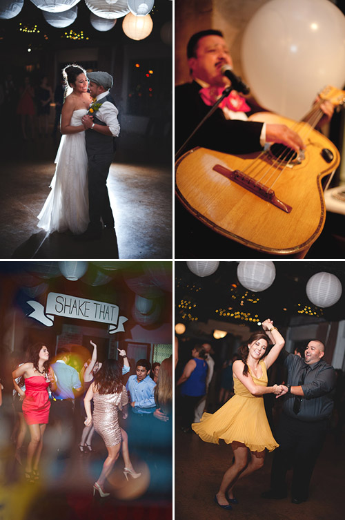 colorful wedding at Hickory Street Annex in Dallas, Texas - photos by Nine Photography | junebugweddings.com