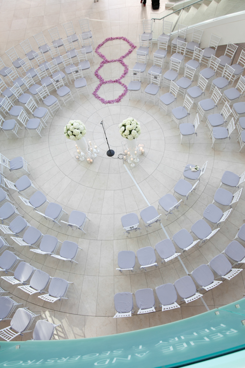 segerstrom center for the arts wedding photo by Jules Bianchi | junebugweddings.com