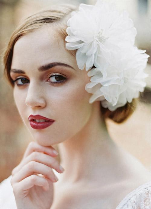 1920 S Inspired Bridal Hair Accessories Junebug Weddings