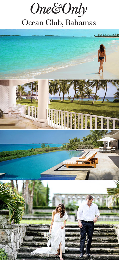 Enter to win a luxury honeymoon at The Cove Atlantis and On&Only Ocean Club in The Bahamas from junebugweddings.com!