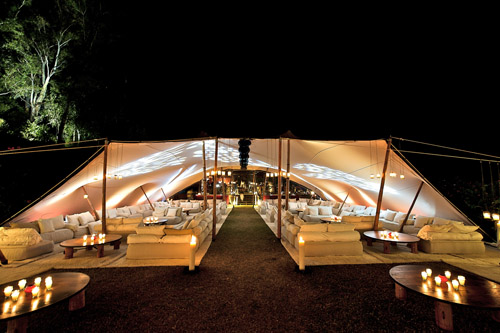 creative event design, decor and tenting from Gypset in LA | via junebugweddings.com