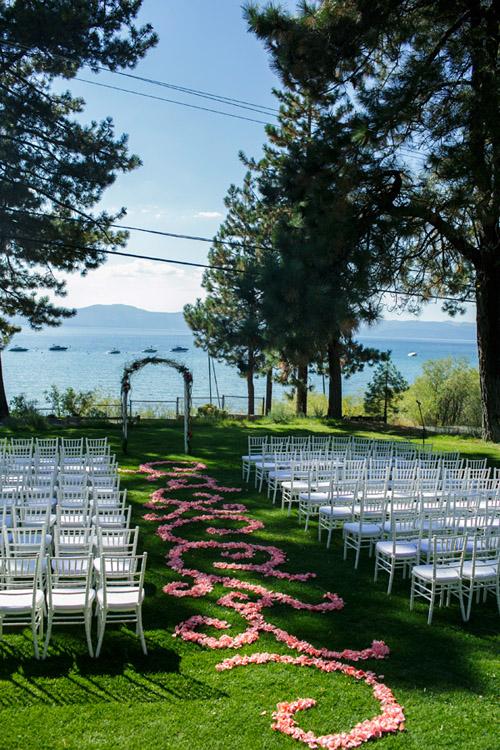 Vibrant, Modern Outdoor Wedding In Lake Tahoe, NV