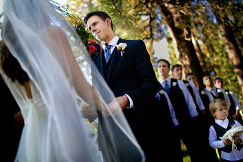 Lake Tahoe, Nevada modern wedding, photo by Mauricio Arias of Chrisman Studios | junebugweddings.com