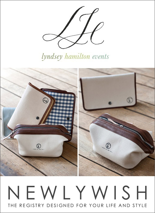Lyndsey Hamilton for Fleabags, available through NewlyWish | junebugweddings.com