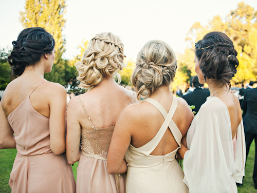 whimsical garden wedding in Malibu, California at Calamigos Ranch, with photos by Joy Marie Studios | junebugweddings.com