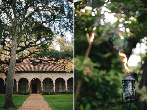 Outdoor Miami wedding at the Ancient Spanish Monastery - photos by Becca Borge | junebugweddings.com