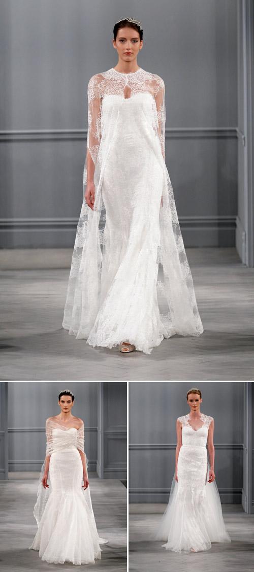 Wedding dresses by monique lhuillier spring 2014 for Buy monique lhuillier wedding dress